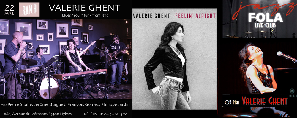 Valerie Ghent *** NEW SINGLE *** Feelin' Alright