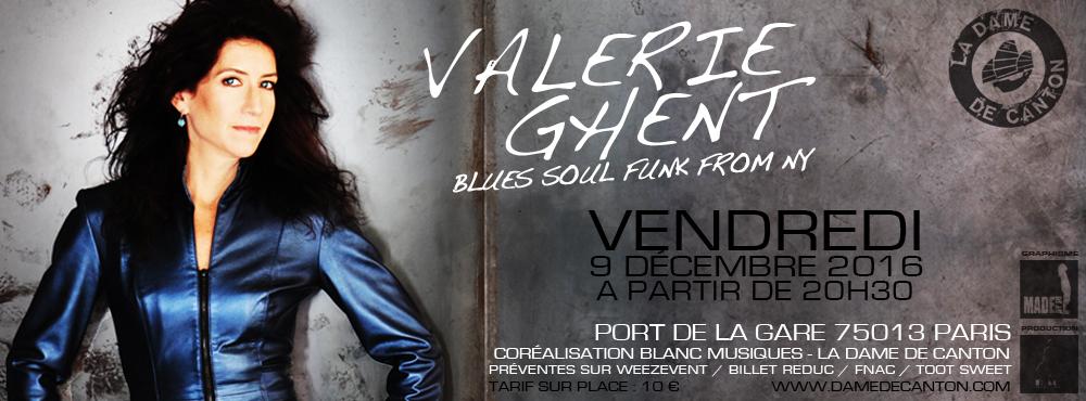 Valerie Ghent LIVE…