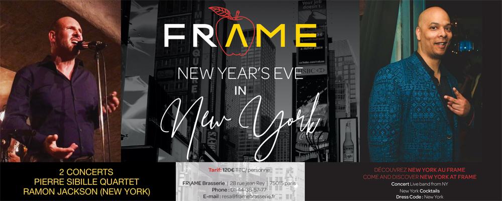 FRAME Réveillon Nouvel An